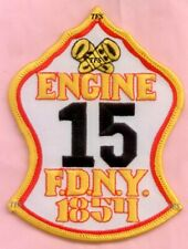 New York City Fire Dept Engine 15 Patch
