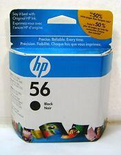 Genuine HP 56 Black Ink Cartridge - OEM Exp Mar 2010 Sealed C6656AC