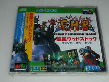 NEW SEALED SEGA MEGA DRIVE JAPANESE IMPORT VIDEO GAME FHB FUNKY HORROR BAND NFS
