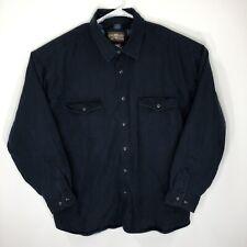 Levis Mens Xxl Shirt Jacket Lined Blue Hr