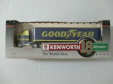 NEW GOOD YEAR KENWORTH 18 WHEELER DIECAST METAL BANK 1/64 SCALE #30031 AGES 8+
