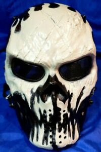 Skull Full Face Scary Tactical Paintball Cosplay Scary Purge