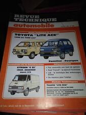 RTA revue technique automobiles N° 469 TOYOTA LITE ACE