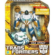 Hasbro Transformers 2009 HFTD SEASPRAY Voyager Class Figure New & Sealed MISB