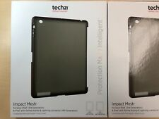 Tech21 Impact Mesh Case for iPad 2 3 4 in Smokey T21-3455