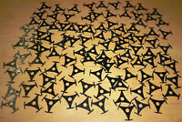100 x Singlesterne (Singlestern, Single Sterne, Stern) Mittelstücke für Singles