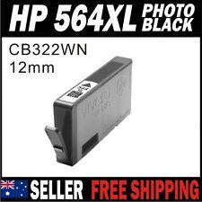 1x Photo Black Ink for HP 564 564XL CB322WA B901a B8550 B8553 B8558 C309a C310a