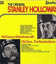 "THE ORIGINAL STANLEY HOLLOWAY MRS 5104 EMI Vinyl 12"" LP-33 Album VG+ Mono 1956"