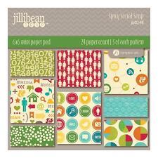"""Jillibean Soup """" SPICY SOCIAL SOUP """" 6 x 6 Paper Pad *NEW* 2014 JB0248"""