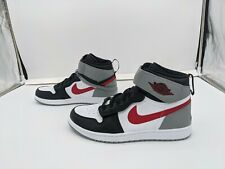 NEW Air Jordan 1 High Fly Ease - CQ3835 002 - B/W Particle Grey Gym Red - SZ 11