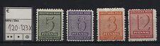 SBZ 120-123 X postfrisch (B04783)