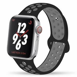 oddo.cc Watch Band for Apple Watch Series 1,2,3,42mm Soft Silicone Sport Wrist