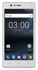 NOKIA 3 Dual-Sim, Smartphone, 16 GB, Android 7, 5.2 Zoll, silber weiß DUAL T3279
