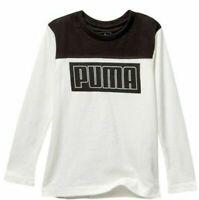PUMA Big Boy's Long Sleeve Tee Shirt