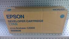 Toner EPSON S050036 originale ciano per Aculaser C1000/C2000 6000 pag. (aperto)