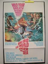 AROUND THE WORLD UNDER THE SEA - 1S, 1966, Lloyd Bridges and David McCallum
