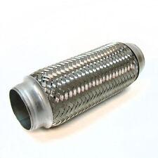"Flexi Pipe Flex Joint 600mm X 200mm Exhaust Flexipipe Tube Cat Repair 2.5"" x 8"""