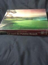 Vtg Pebble Beach Golf course puzzle, Springbok#5, 500pc, NOS sealed box, USA