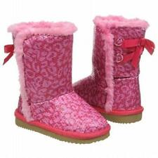 Zodiac Charlie boot pink furry lining Girls 5 NEW