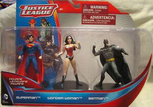 DC Comics Justice League Superman, Wonder Woman & Batman Figurine 3-Pack