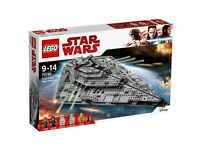 Lego Star Wars 75190 First Order Star Destroyer™ New/Boxed