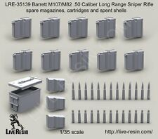 Live Resin 35139 1/35 Barrett M82A1/107A1 Cal.50 (LRSR) Spare Magazines