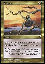 Simoon X4 EX/NM Visions MTG Magic Cards Gold Red Green