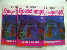 R. L. Stine Goosebumps # 1 Welcome To Dead House Original Cover B20