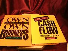 Gary Cochran manual/books-Secret Cash Flow Tech.&Own your own business-free ship
