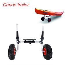 80KG Adjustable Kayak Trolley Heavy Duty Compact Kayak Sit On Top Canoe Sup Cart