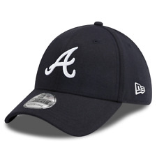 Atlanta Braves New Era MLB Team Classic 39THIRTY Curve Hat - Navy