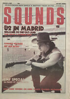 Sounds Music Magazine 1 August 1987 U2, Cabaret Voltaire, Def Jam, Anthrax,