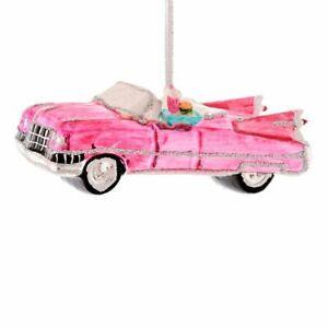 Gift Company Christbaumschmuck Auto Cabrio Pink