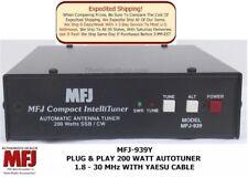 MFJ-939Y Plug & Play 200 Watt Autotuner 1.8-30 MHz With Yaesu Cable 20,000 Mem