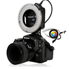 Aputure Amaran Halo AHL-HN100 LED Macro Ring Flash Light 95+ CRI for Nikon DSLR