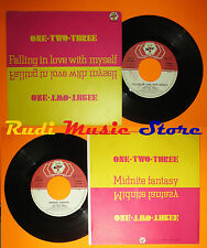 LP 45 7''ONE TWO THREE Falling in love with myself Midnite 1983 italy cd mc dvd*