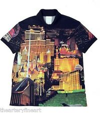 DAVID BYRNE 'Las Vegas Strip' Lacoste Polo Shirt Size S from VISIONAIRE #54 II
