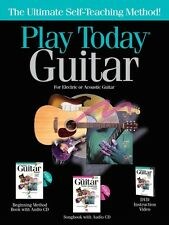 Play Today Guitar Complete Kit - Instructional Book with DVD-ROM NEW 000650742