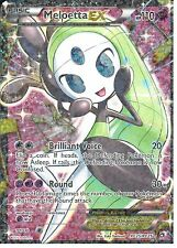 POKEMON LEGENDARY TREASURES RADIANT COLLECTION - MELOETTA EX RC25/RC25  FULL ART