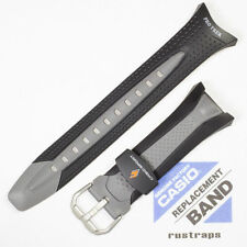 CASIO black/grey rubber watch band for PRG-70, 10158340