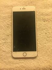 iPhone 6s Plus.Gold - Unlock Clean Esn- Cracked Screen.  No iCloud Please Read