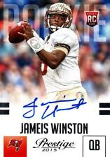 2015 Prestige Rookie Autographs #244 Jameis Winston SP RC Buccaneers