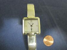 #183 ladys sterling silver ANNE KLEIN quartz watch