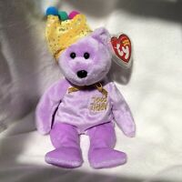 """Ty Beanie Baby """"Jokester"""" Bear #44045, Ty Online Store Exclusive, Fr 2005"""