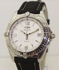 1999 Stainless Steel Breitling Windrider Wings Automatic A10350 - 38mm