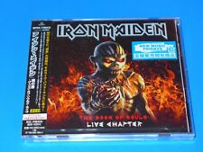 2017 JAPAN IRON MAIDEN THE BOOK OF SOULS LIVE CHAPTER 2 CD w/BOOKMARK