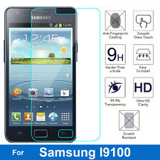 Tempered Glass  for Samsung Galaxy S2 Protector Film on S II SII I9100 I9105