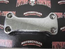 YAMAHA VIRAGO SMOOTH CHROME 1 PIECE HANDLE BAR TOP CLAMP KIMPEX 05-0201