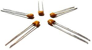 10PCS MultiComp 3 pF, 50 V, ± 0.25pF Radial Multilayer Ceramic Capacitor - New