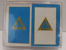 Vintage Whitman Chevrolet Certified Tech. Double Deck Playing Cards Western Pub.